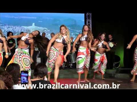 Brazilian Beautiful Dance – Amazing Black Women from Brazil Tribal Wear