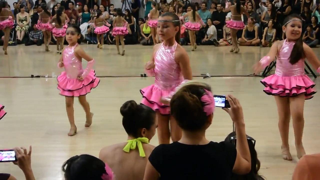 Montuno Stars Kid's Salsa at Montuno Dance Summer Showcase 2013