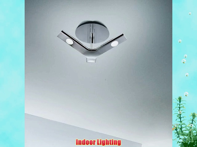 Leds C4 La Creu Indoor Lighting Ceiling Light Troppo Chrome
