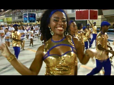 Golden Dancers Dance Samba: Rio Carnival 2014 Official Ilha