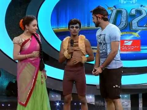 D2 Episode 56 Pranav Pradeep's Chinese Pole Dance, Suhaid in Trio Round,