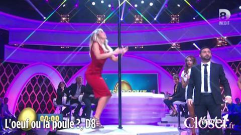 L'oeuf ou la poule ? – Battle de pole dance entre Nabilla et Enora Malagré