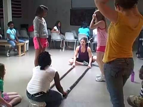 SmART in the City 2008 – Brazilian dance practice