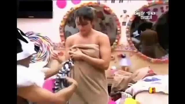 Brazil Big Boss Dress Slips Oops Video