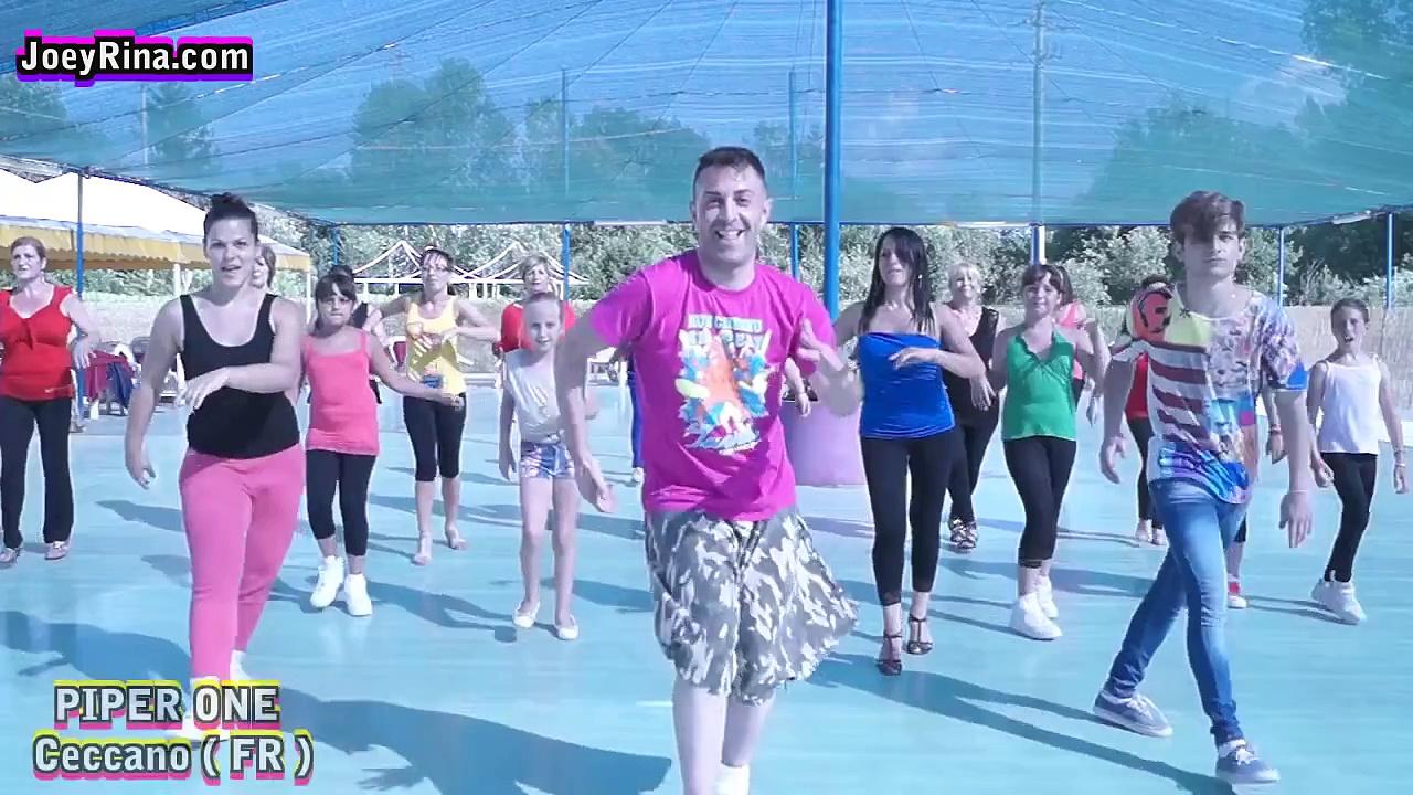 "Joey&Rina "" Bomba Latina "" || Impara i Passi || Balli di Gruppo 2015 Line Dance"