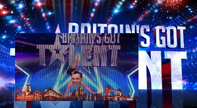 BGMT WARNING  this pole dancing clip is a little bit naughty!   Britain's Got Talent 2015