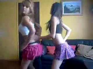 Latinas dancing tikitaca