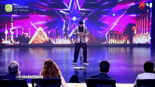 Salah  Break Dance Arabs Got Talent (2015) NEW