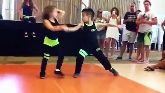 Salsa Shakes! Amazing dancing kids!   360p