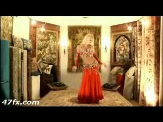 Beautiful Nude Blonde Dancing For You Sexy! Movie 1
