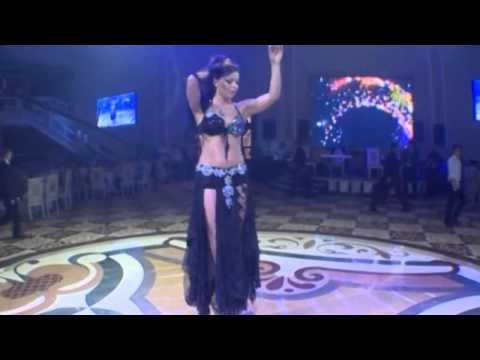 Alla Kushnir Sexy Belly Dance in Azerbaijan