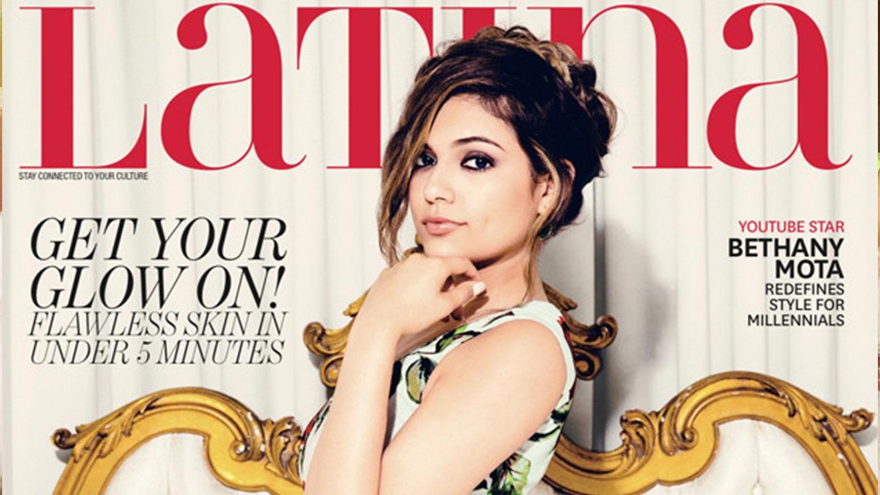 Bethany Mota Reveals Struggles Latina Magazine Cover