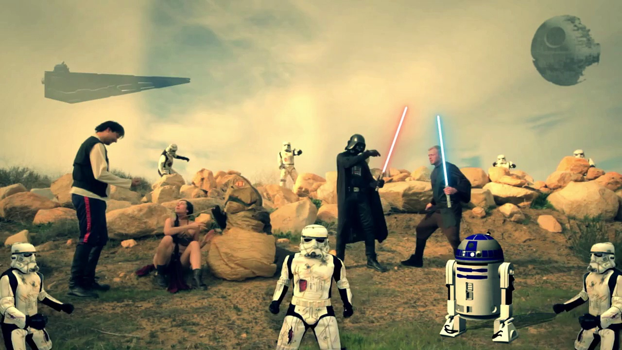Star Wars Harlem Shake (Star Wars Death trooper version)