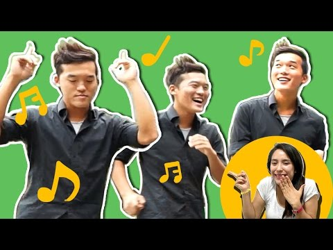 COREANOS BAILAN MUSICA LATINA X 1ERA VEZ! /KOREANS DANCE LATIN MUSIC FOR FIRST TIME!