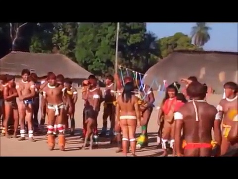 Amazon Rainforest Brazil 2015 Xingu tribes Festival dance
