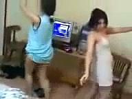 Arab Girl Private Belly Dance