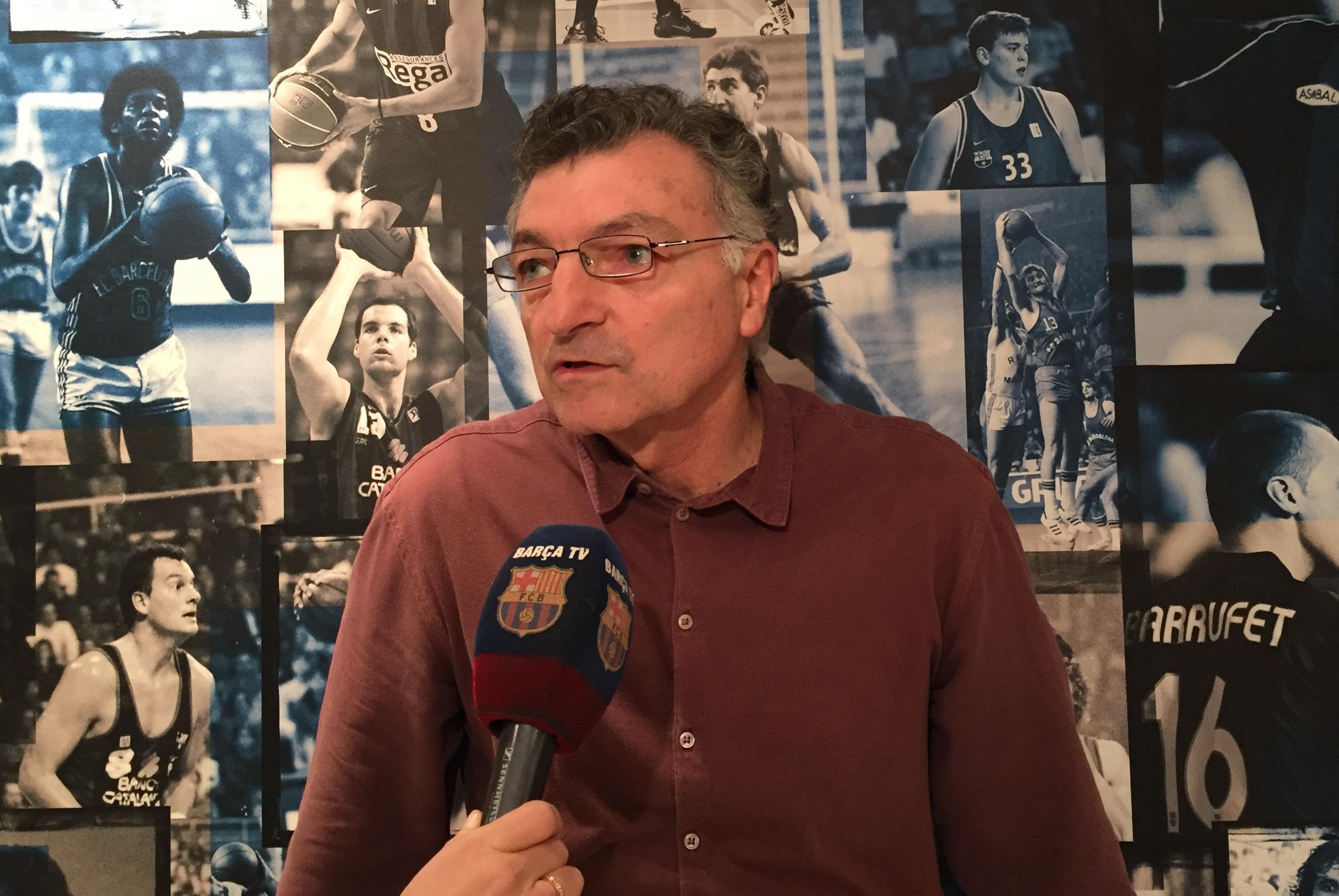 """Joan Creus: """"Todos unidos podemos luchar por la ACB y la Euroliga"""""""