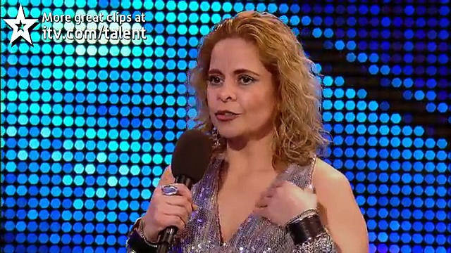 Chica Latina – Britain's Got Talent 2012 audition – UK version