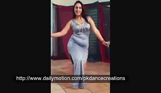 Arab Girl Dancing Alone In Room Belly Dance