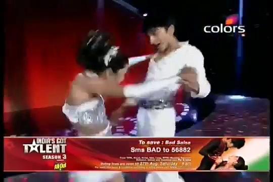 World record  Salsa dance  India got talent