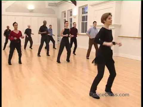 Salsa Dance Basic Side Step to Music 8/22