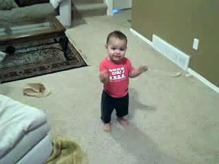 Baby Dancing Salsa