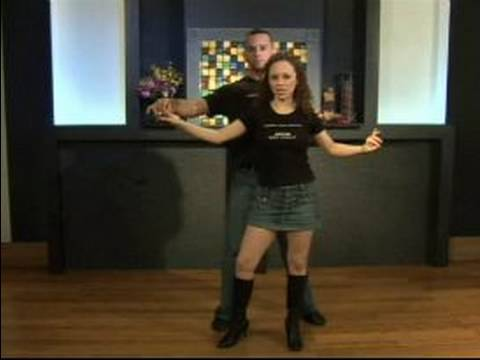 Basic Salsa Dance Steps : How to do an Outside Salsa Dance Turn as a Couple