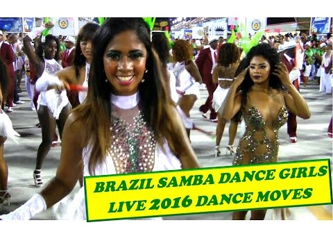 BRAZIL SAMBA DANCE GIRLS: RIO DANCE CHOREOGRAPHY IN LIVE PERFORMANCE 2016