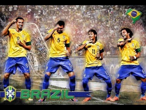 Brazil Samba Dance ► Robinho, Kaka, Ronaldinho, Ronaldo, Adriano
