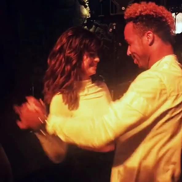 Selena Gomez dancing Salsa