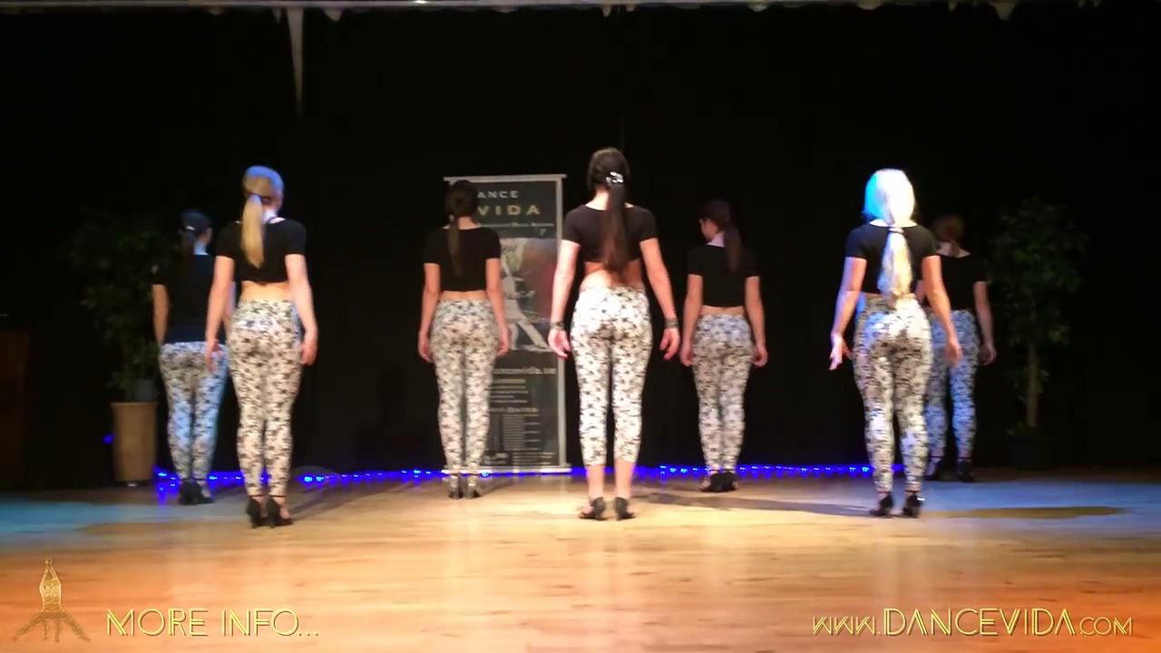 Beautiful Sexy Swedish Girls Dancing Kizomba Salsa
