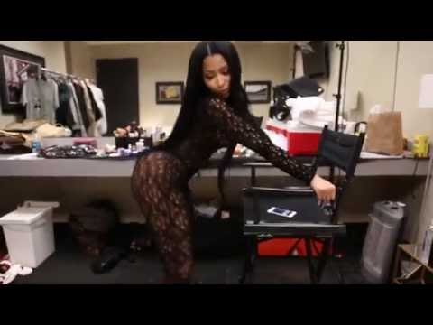Nicki Minaj Backstage Practicing Sexy Dance Before Her Performance At Tidal In Brooklyn!