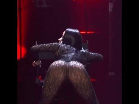 Nicki Minaj Gets Sexy Dance At Tidal Stage In Brooklyn!