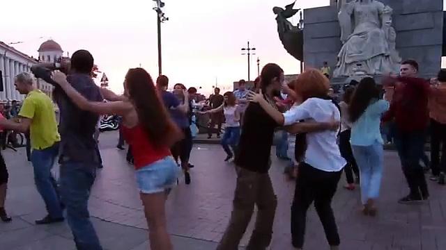 Salsa Open Air Dance St.Petersburg