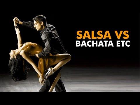 Salsa Dancing – The difference between salsa, bachata, merengue, & kizomba