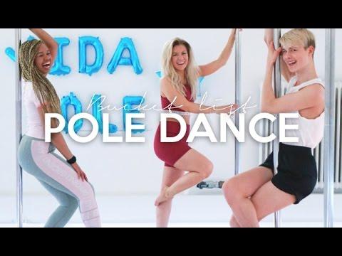 vlogg: POLE DANCE med Daniel H och Sabina Decireé | Min bucket list 2017