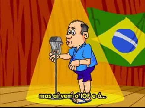 humor brasileiro canta Danca do creu  www.tvgloboonline.com