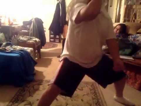 Sexy harlem shake dancer