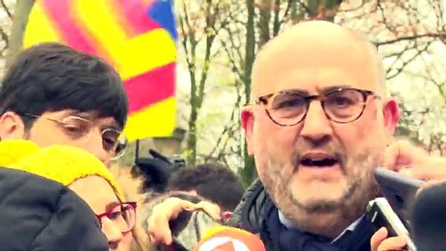 El portaveu de JxCat, Eduard Pujol, creu que Europa ha d'escoltar l'independentisme