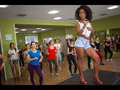 Lady style salsa cubana (Woman salsa dance lessons) Moscow  2017, Timbafest