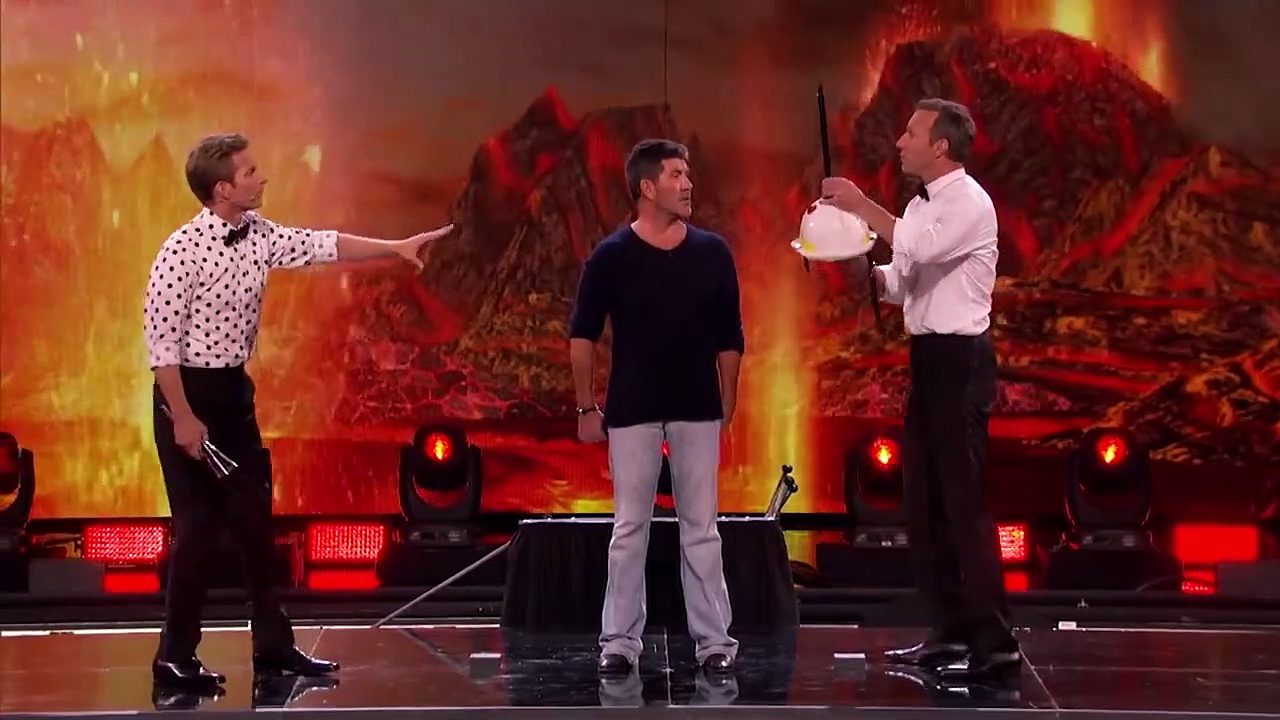 Simon Cowell's Got Talent! _ Knife Throwing, Lap Dancing & More _
