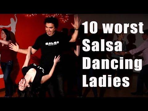 10 Worst Salsa Dancers ( Part 2 ) Woman Version