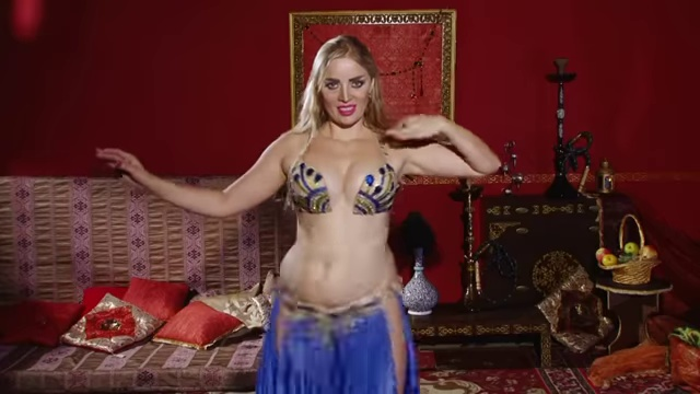 Sexy Nude Belly Dance–watch it