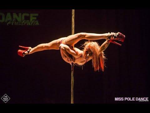 WINNER – MISS POLE DANCE AUSTRALIA 2018 – AMY HAZEL