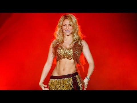 Shakira Belly Dance Compilation