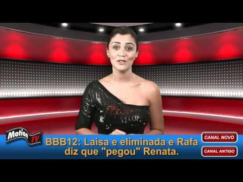 BBB12: Laisa é eliminada com 88%. Rafa pegou Renata embaixo do edredom.