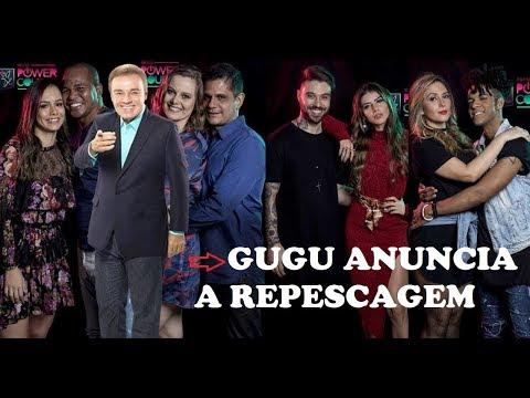 Power Couple Brasil – Gugu anuncia para lilian e créu a repescagem 29/05/18