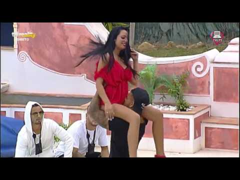 Ítalo faz lap dance muito sensual a Filipa