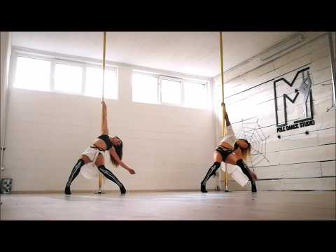 Halloween – Pole dance choreography (Teja&Maja) (Omar Varela-Scary hour)