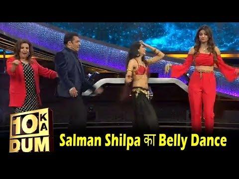 Salman Khan and Shilpa Shetty did Belly Dance on Mashallah Song